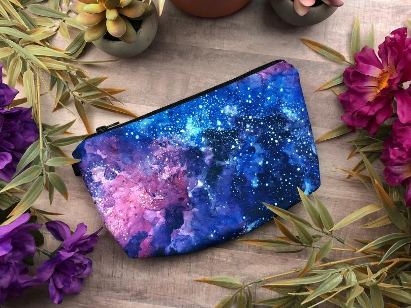 Galaxy Makeup Bag